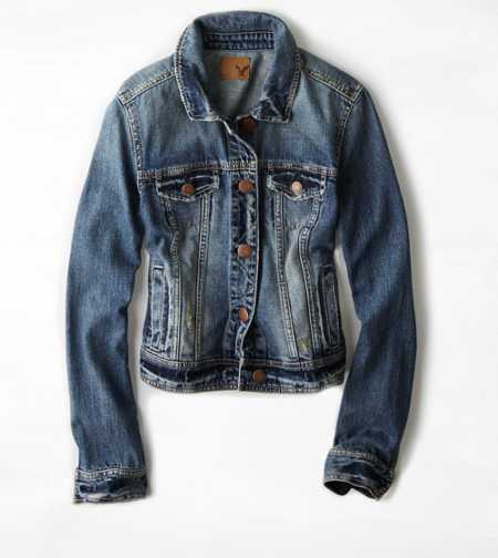 AE Faded Denim Jacket