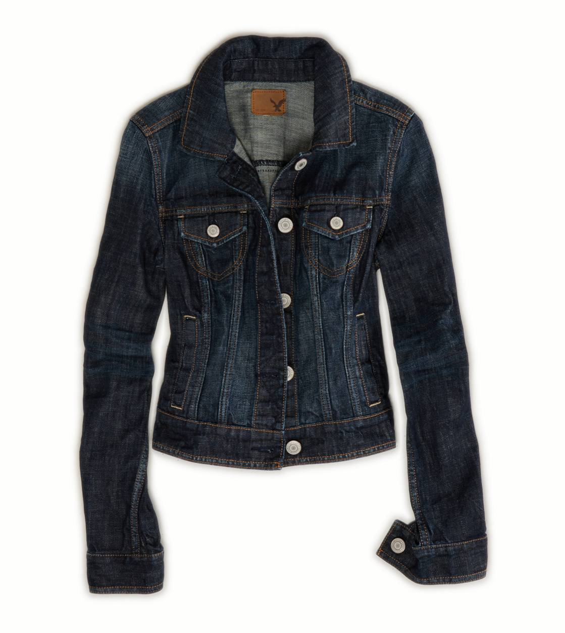 AE Dark Denim Jacket | American Eagle Outfitters