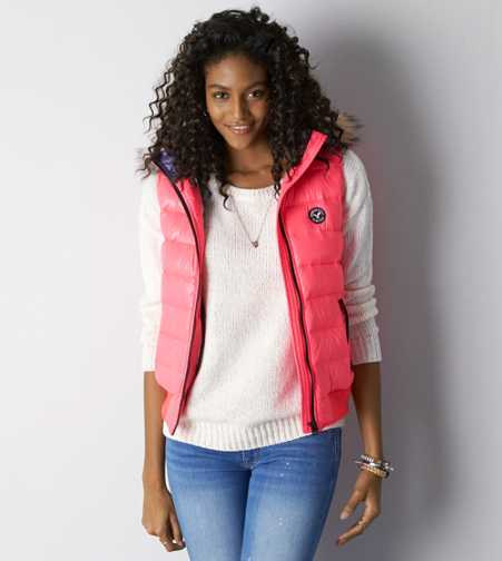 AEO Down Puffer Vest