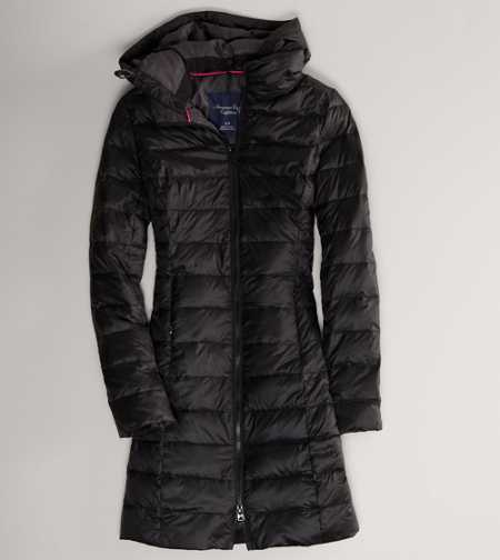 AE Quilted Puffer Coat - Genuine Down Filling