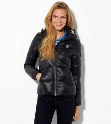 Sale alerts for American Eagle AE Down Hooded Puffer Jacket - Covvet