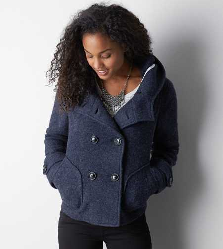 AEO Double Breasted Duffle Coat