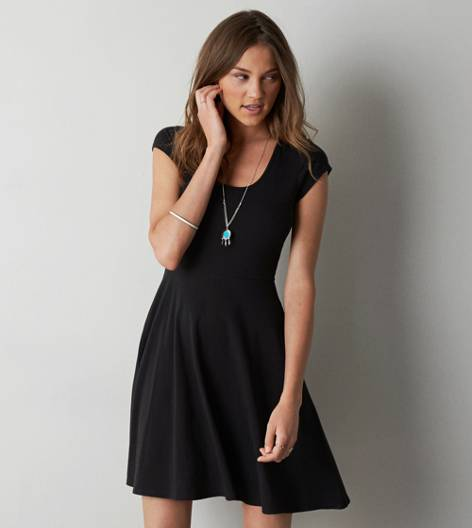 Black AEO Kate Dress