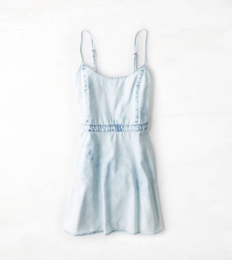 Cloud Wash AE Chambray Sundress
