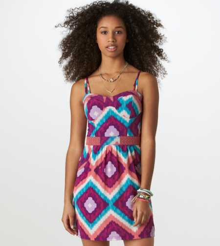 AE Printed Corset Dress
