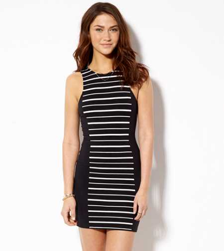AE Paneled Bodycon Dress