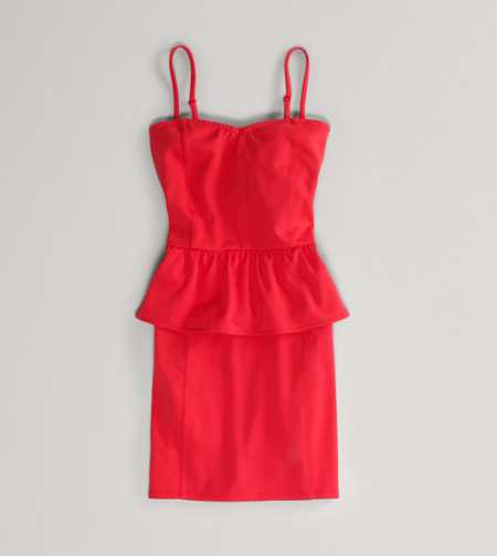 AE Corset Peplum Dress