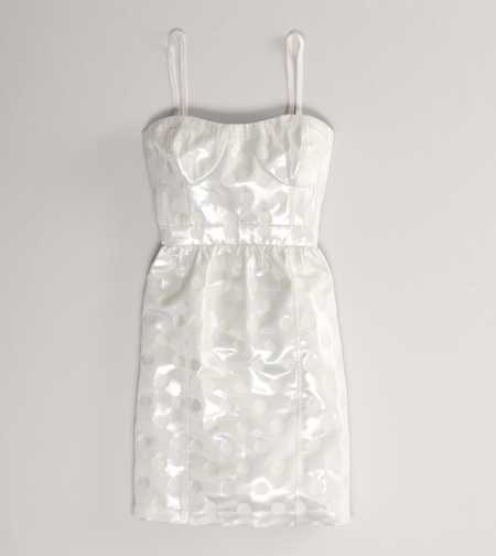 AE Shimmer Dot Corset Dress