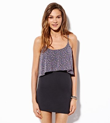Sale alerts for American Eagle AE Tiered Bodycon Dress - Covvet