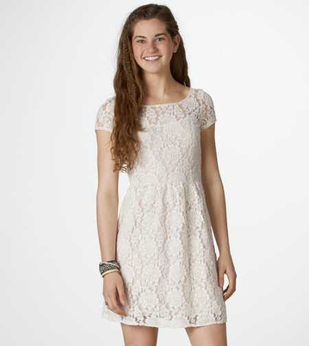AE Floral Lace Dress