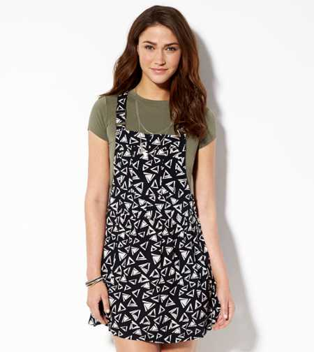AE Soft Printed Dress-all