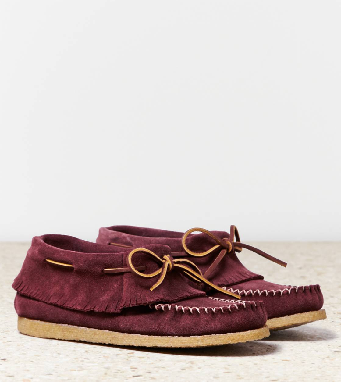 Burgundy Eastland Moccasin