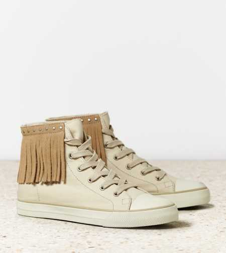 AEO Studded Fringe High Top