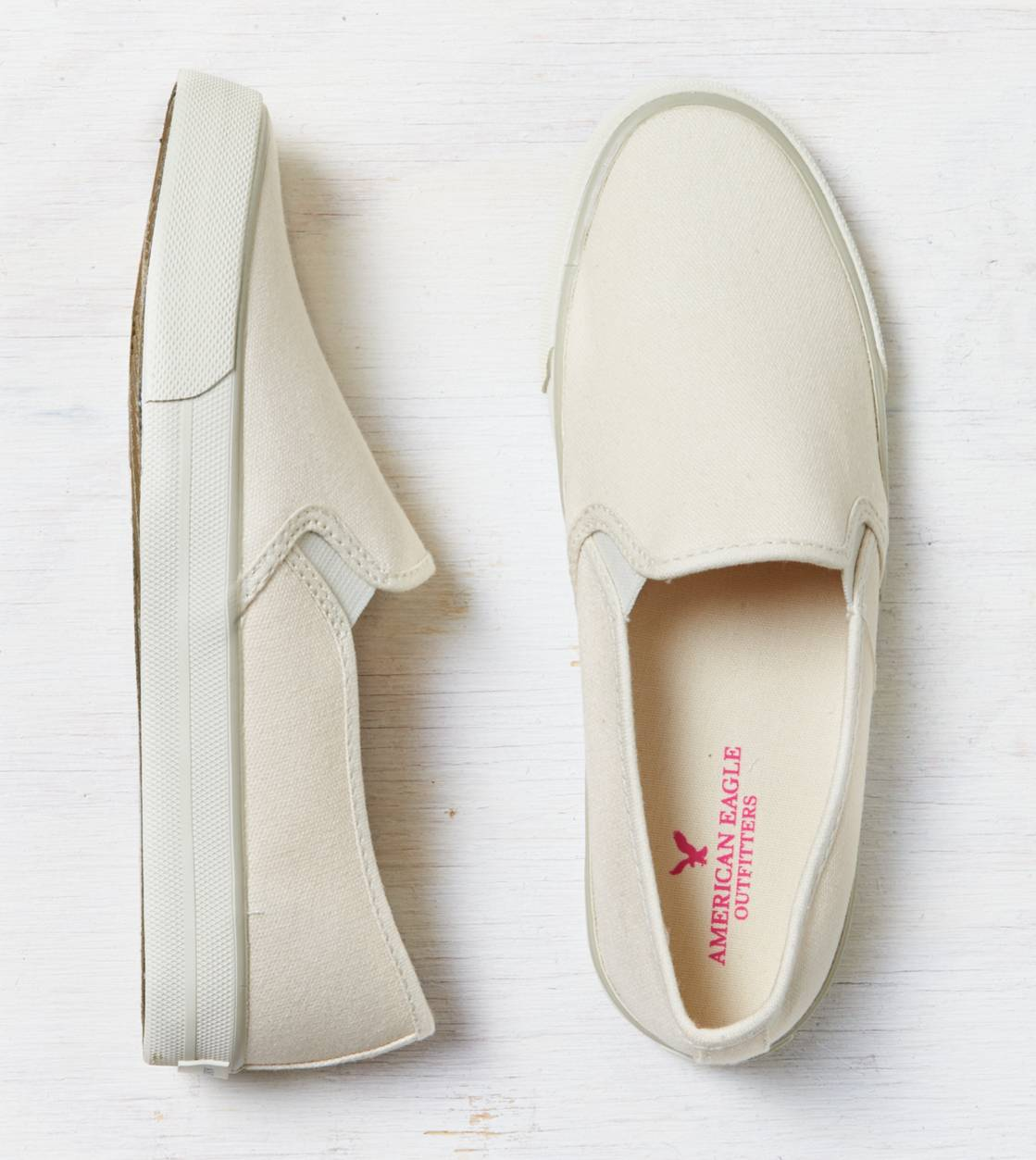 Natural AEO Slip-On Sneaker