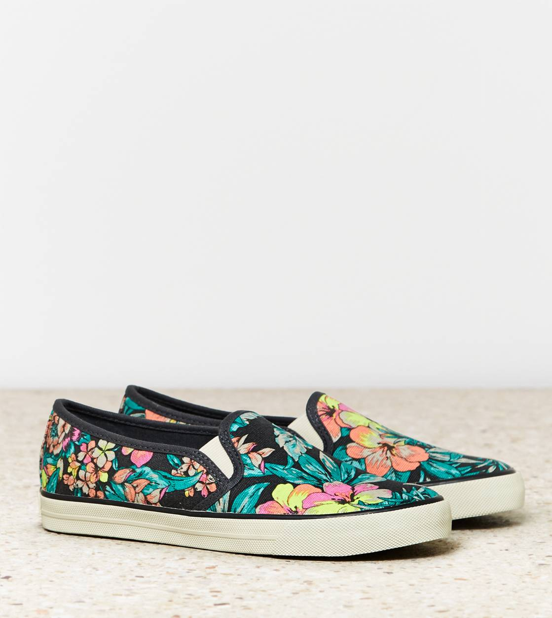 Neon Tropical AEO Slip-On Sneaker