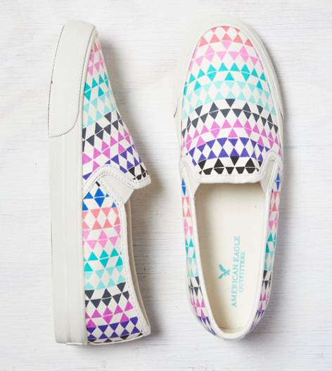 Blazing Confetti AEO Slip-On Sneaker