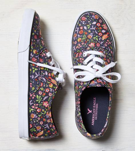 Floral AEO Lace-Up Sneaker
