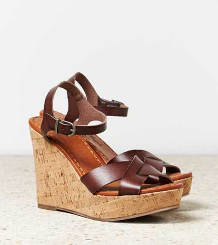 AEO Strappy Wedge Sandal
