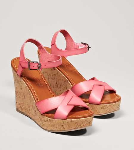 AEO Strappy Wedge Sandal - Free Shipping On Shoes