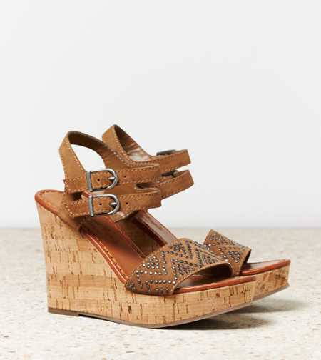 AEO Studded Wedge Sandal - Take 40% Off
