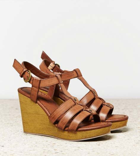 Brown AEO Gladiator Wedge