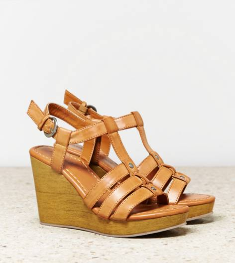 Tan AEO Gladiator Wedge