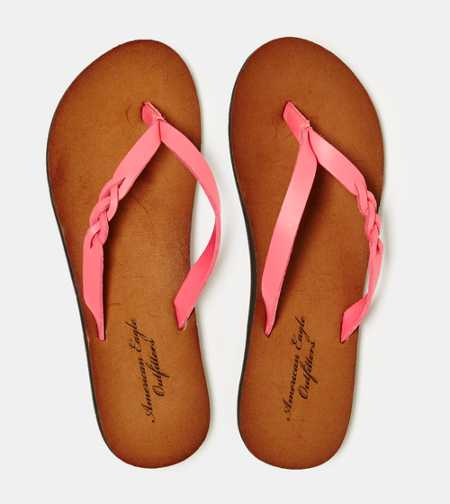 AEO Braided Flip-Flop - Free Shipping On Shoes