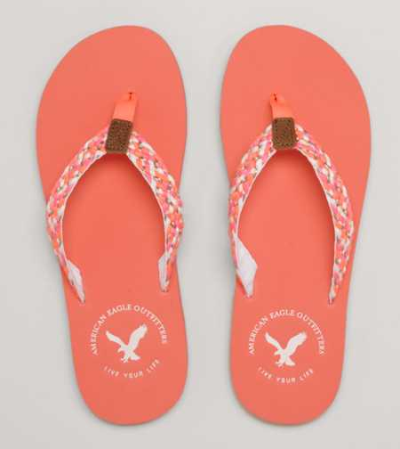 AEO Woven Flip-Flop - Free Shipping On Shoes