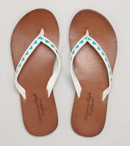 AEO Embossed Flip-Flop - Free Shipping On Shoes