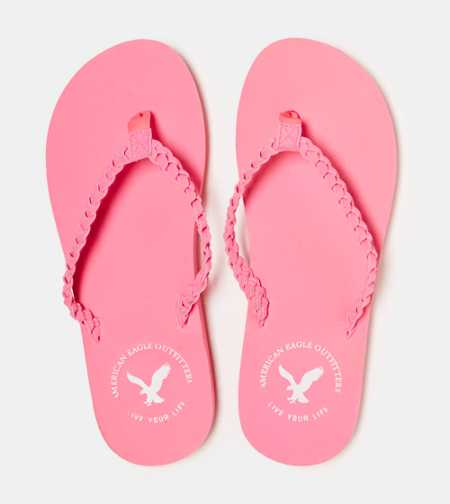 AEO Braided Flip-Flop - Take 40% Off
