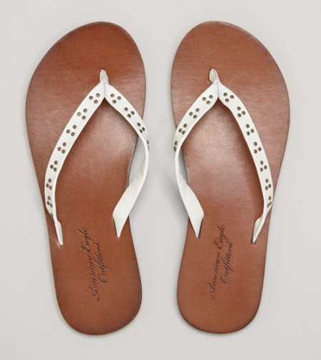 AEO Studded Flip-Flop - Free Shipping On Shoes