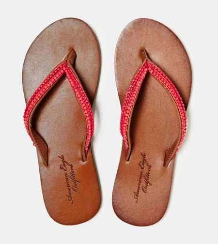 AEO Beaded Flip-Flop - Free Shipping On Shoes