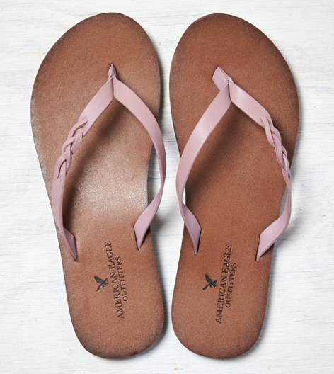 Rose  AEO Braided Flip-Flop