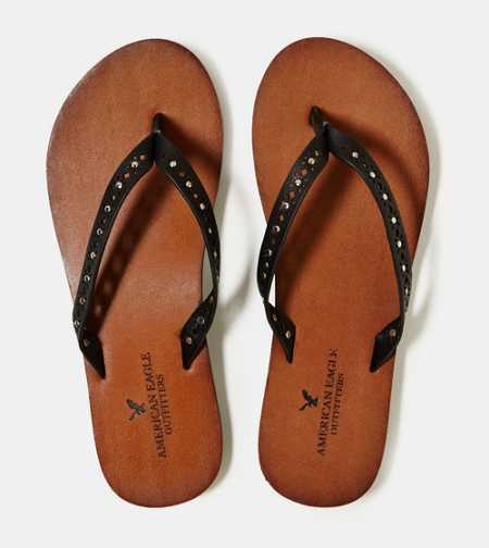 AEO Studded Flip Flop - Buy One Get One 50% Off & Free Shipping
