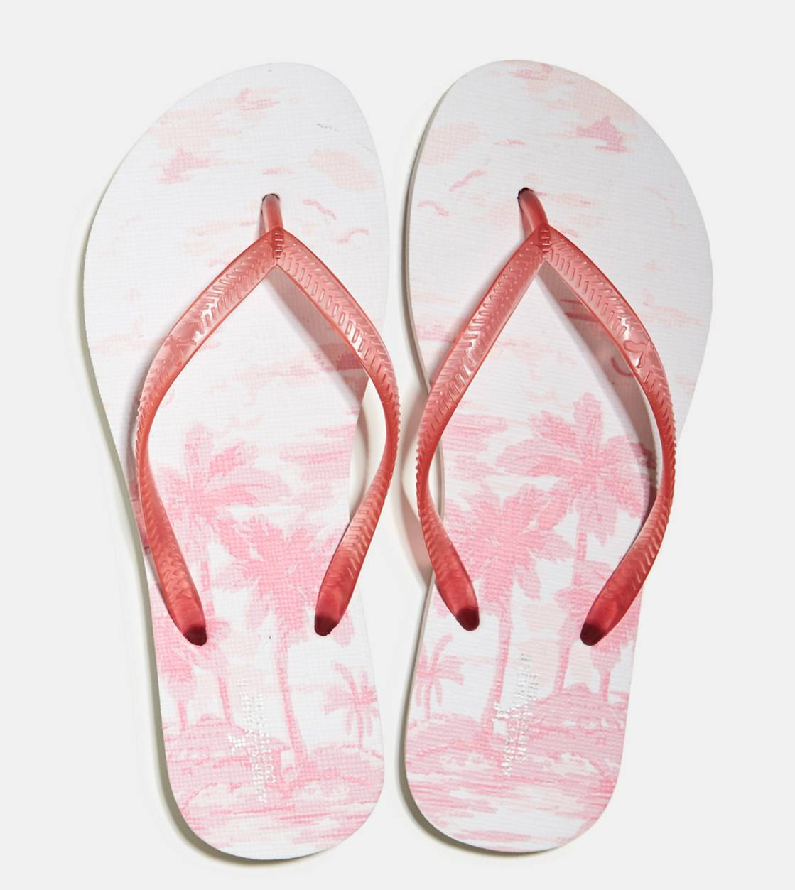 Whipped Strawberry AEO Printed Rubber Flip Flop