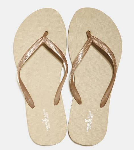 Golden Oak AEO Rubber Flip Flop