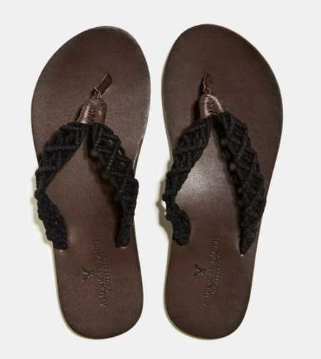 AEO Crocheted Flip-Flop - Free Shipping On Shoes