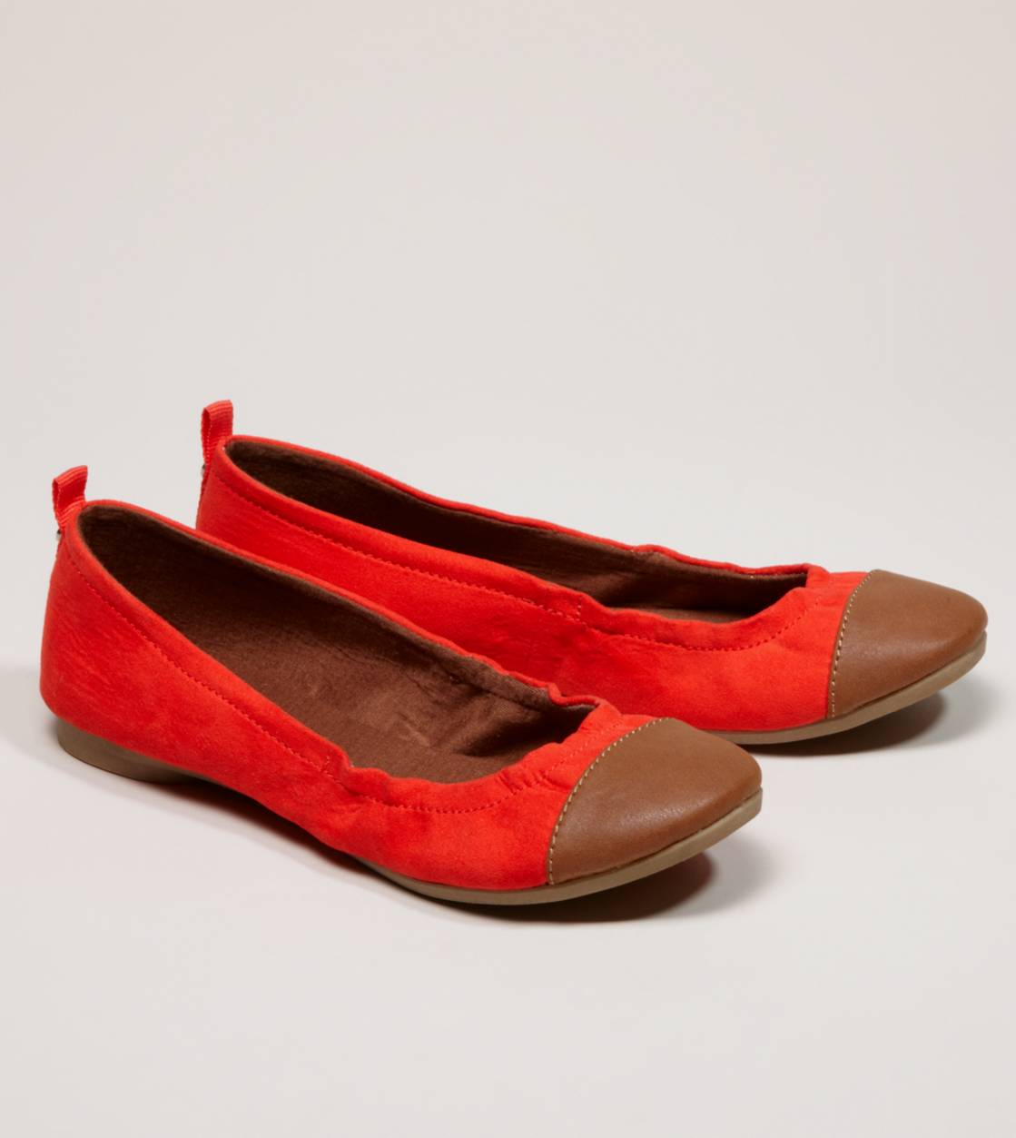 AEO Colorblock Ballet Flat | American Eagle Outfitters :  lovely flat nice flat sweet flat wonderful flat
