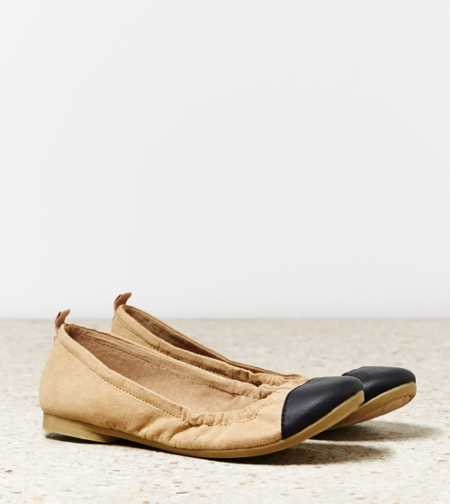 AEO Colorblock Ballet Flat - Free Shipping On Shoes