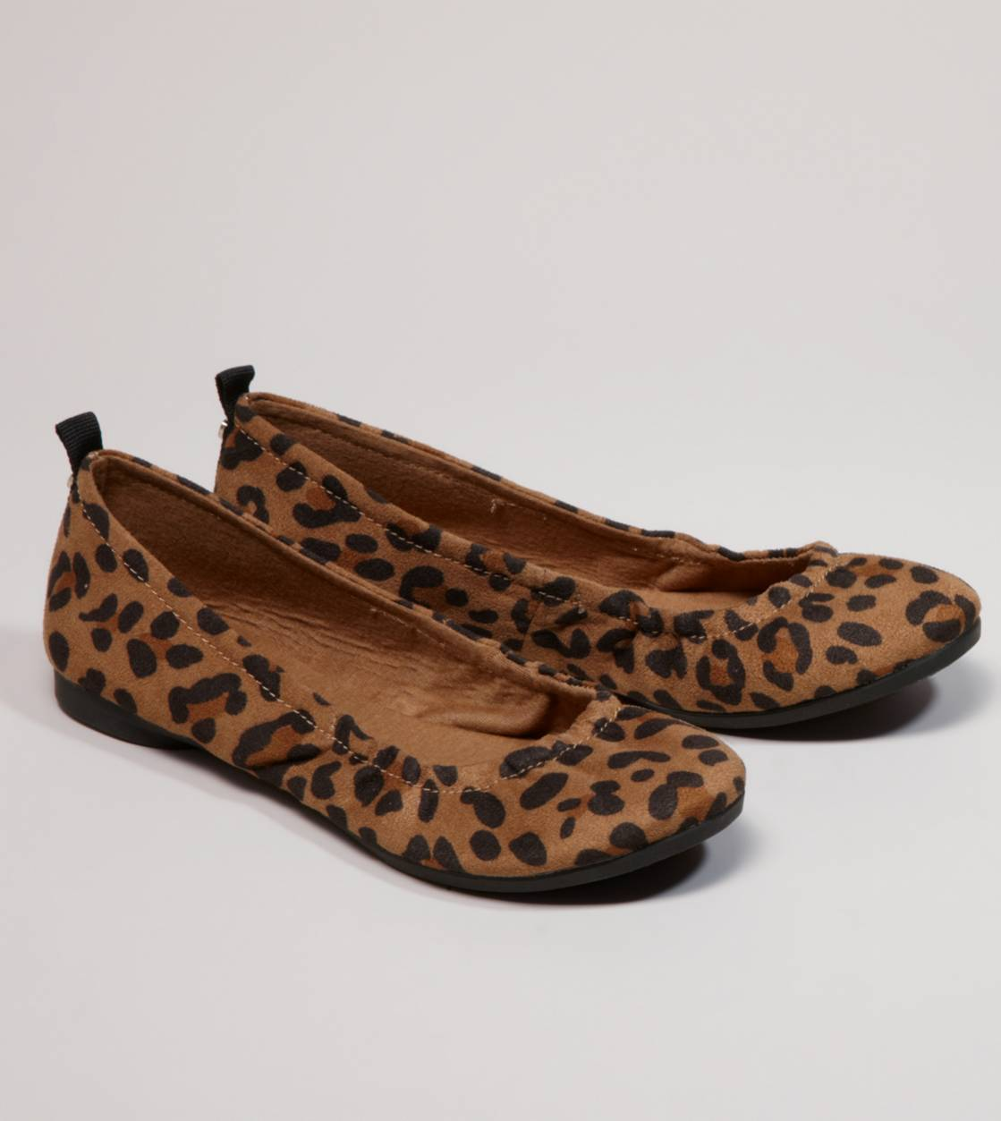 AEO Leopard Print Ballet Flat American Eagle Outfitters from ae.com