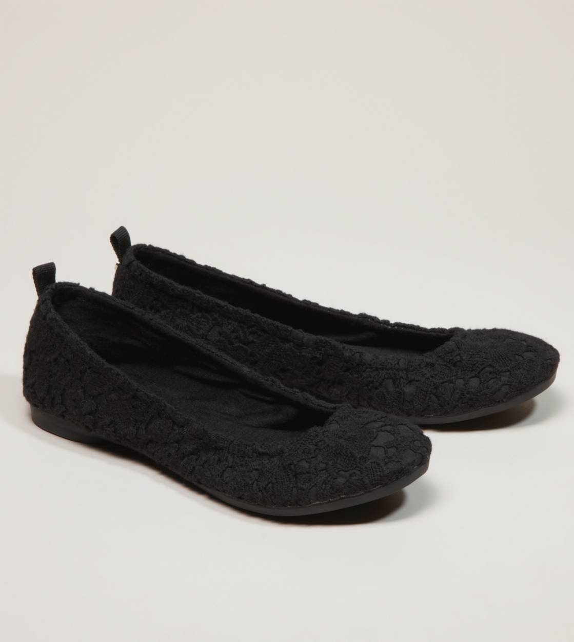 AEO Crocheted Lace Ballet Flat from ae.com