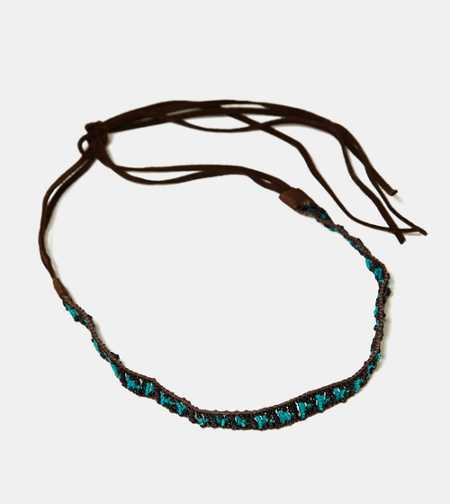 AEO Beaded Suede Headband - Buy One Get One 50% Off