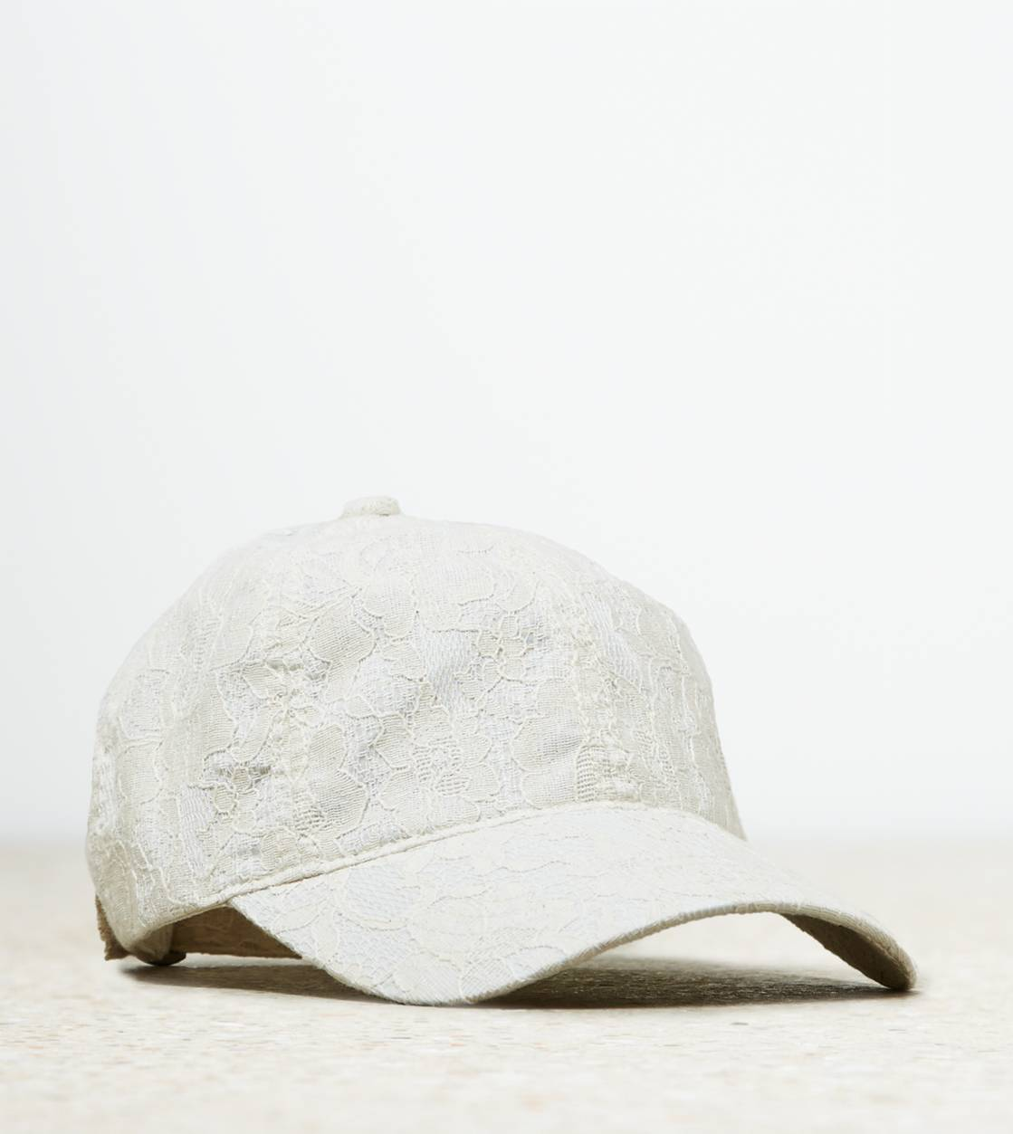 Chalk AEO Lace Baseball Hat