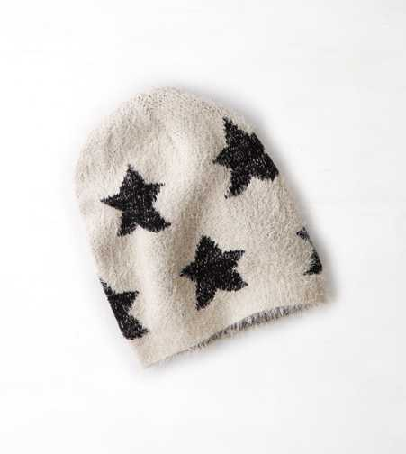 AEO Soft Intarsia Star Beanie - Buy One Get One 50% Off