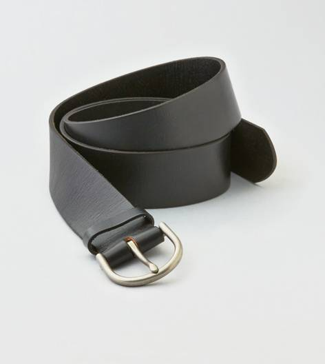 Black AEO Leather Belt