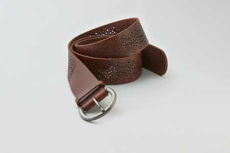 AEO Perforated Leather Belt - Buy One Get One 50% Off