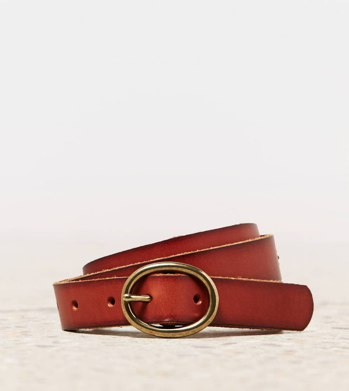 Tan AEO Leather Belt
