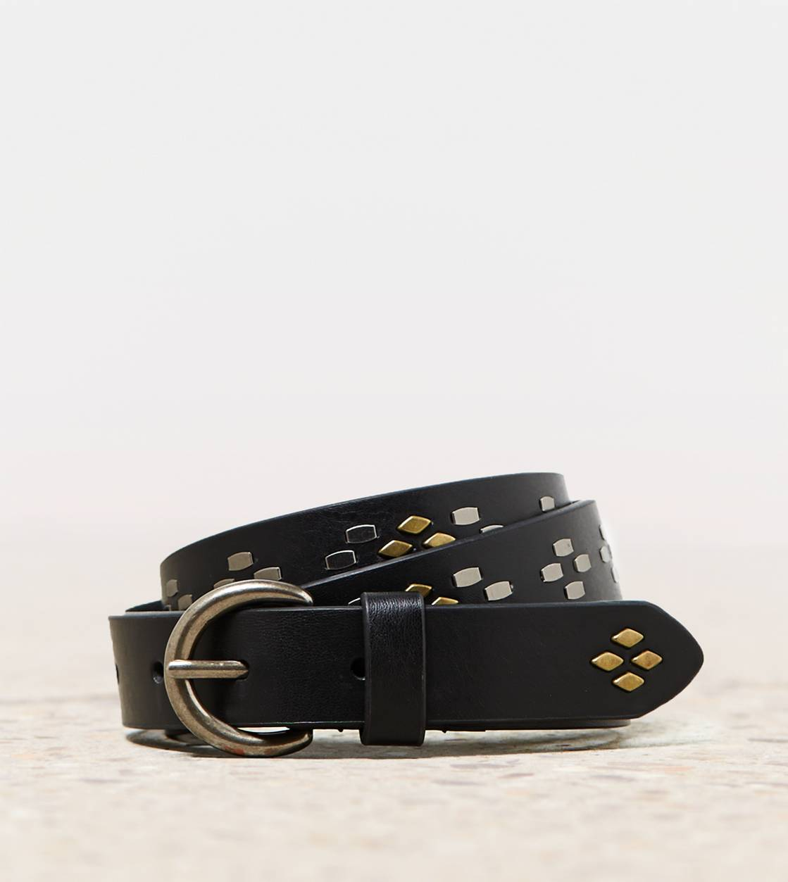 Black AEO Studded Belt