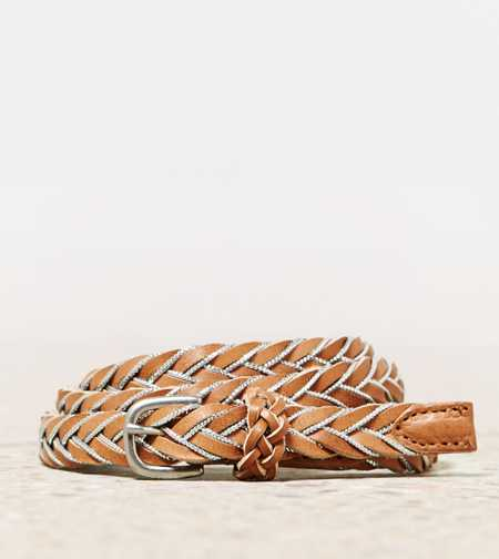 AEO Braided Metallic Belt