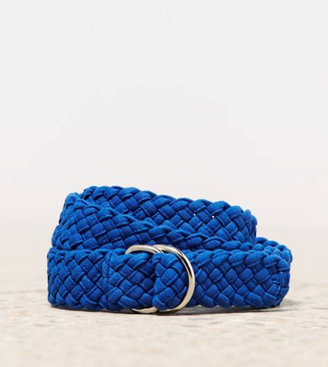 Cobalt Blue AEO Braided Slide Belt